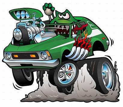 Rod Cartoon Funny Gremlin Monster Seventies Rods