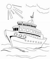 Coloring Pages Boys Years Steamship Print Coloringtop sketch template