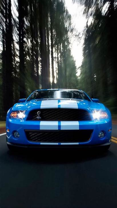 Mustang Ford Wallpapers Iphone Mobile Shelby Horizon