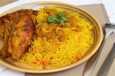cuisine mauritanienne vermicelles au poulet une recette 100 sénégalaise