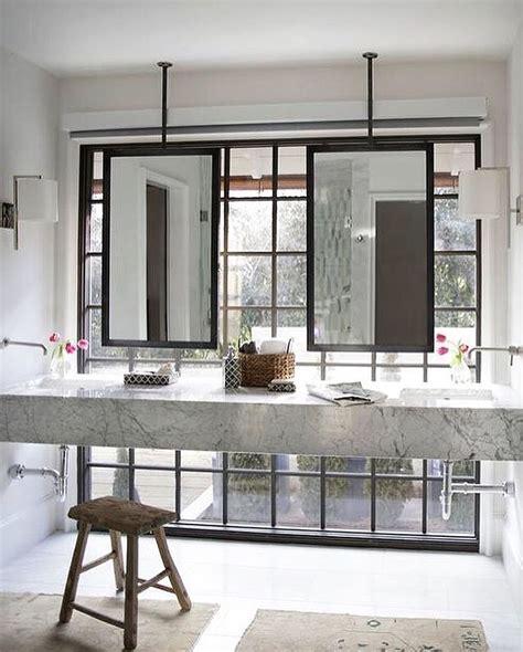 faucet position ceiling mount mirrors bathe powder