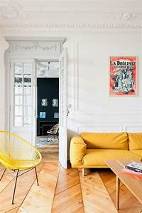 appartement ancien design contemporain frenchy fancy With beautiful association de couleurs avec le bleu 3 quelles couleurs se marient avec le dore