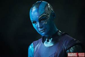 Karen Gillan stars as Nebula in Marvel's Guardians of the ...