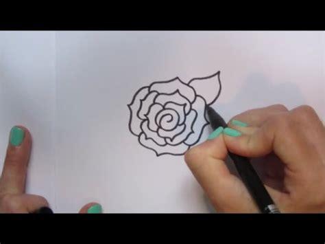 cartoon roosrose tekenen   draw  youtube