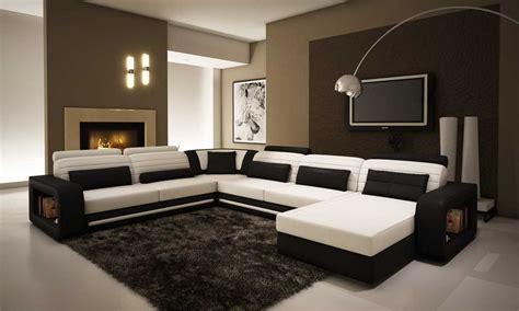 contoh ruang tamu memikat  nuansa warna coklat