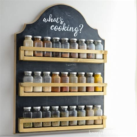 Spice Rack Building Plans by Wooden Spice Rack Build Plans Houseful Of Handmade