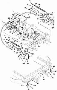 Hydraulic Lift Assembly 928d Grasshopper Mower 1996