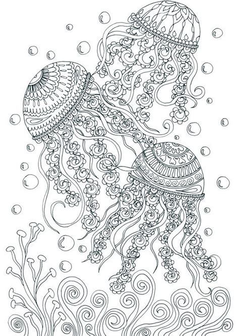 adults printable  summer coloring pages