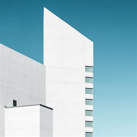 Minimalist Photographs Of Sharp And Bold Architecture By