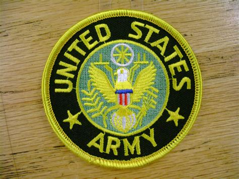 Army Branch Vest Patch Motorcycle Biker Patch Club Patch