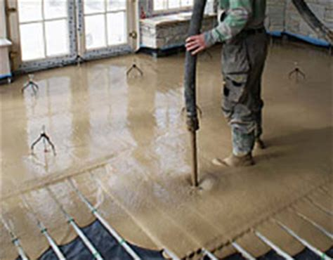 Floor Screed, Liquid Concrete Easy Screed by Ultraflo for