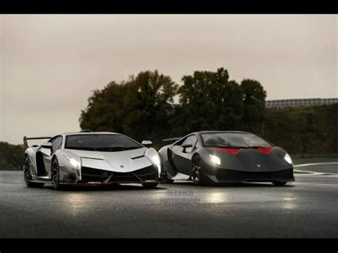 lamborghini veneno  sesto elemento comparison youtube