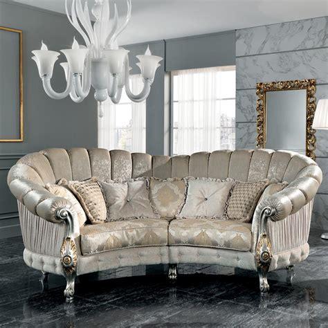 italian settee made in italy 4 seater fabric sofa classi design