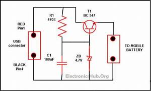 Circuit Diagram For Simple Mobile Charger