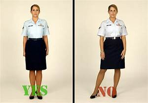 Dress (and behave) for success - use AFI 36-2903 ...