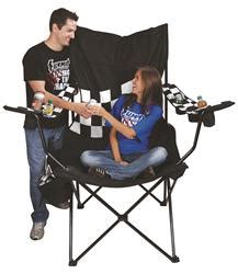 Kingpin Folding Travel Chair With Canopy by Checkered Flag Kingpin Folding Chair Free Shipping On