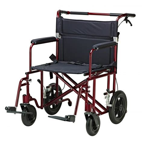 bariatric heavy duty transport chair drive medical atc22 r