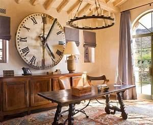Grosse Pendule Murale : 45 id es pour le plus cool horloge g ante murale ~ Teatrodelosmanantiales.com Idées de Décoration