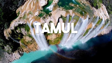 Conoce La Cascada De Tamul English Subtitles Youtube