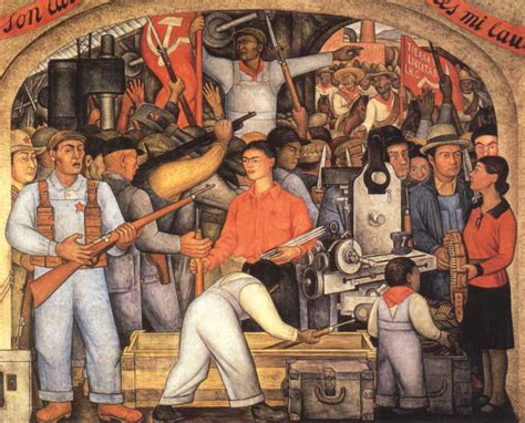 Stalinist Mural Diego Rivera Rockefeller Center by The Meaning Of It All Of Murals Frescos And The Common
