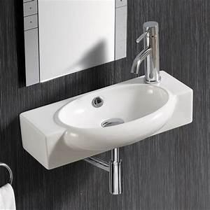 Waschbecken Für Gäste Wc : lux aqua g ste wc waschbecken nano beschichtung 4522tr n ebay ~ Frokenaadalensverden.com Haus und Dekorationen