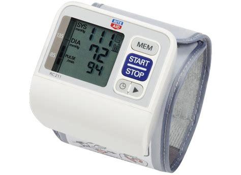 Rite Aid RC211 Blood Pressure Monitor - Consumer Reports