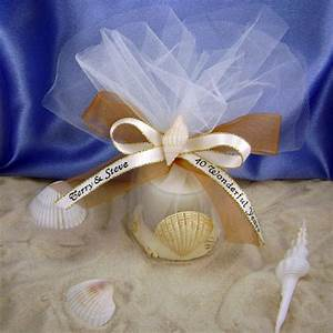 beach wedding favors romantic decoration With beach theme wedding favors