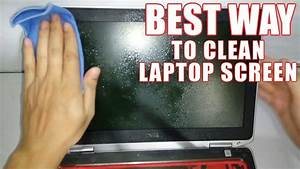 What To Use To Clen My Laptop Monitor
