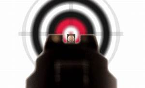 Proper Sight Alignment And Sight Picture