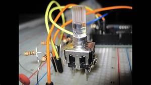 Rotary Encoder Tutorial With Arduino Code
