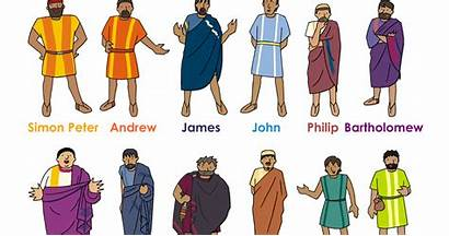Disciples Jesus Twelve Bible Names Character There