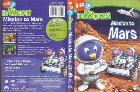 dvd nick jr backyardigans mission to mars ebay