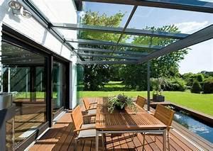 baie vitree pour la terrasse fermez la terrasse et ouvrez With toit en verre maison 2 amenagement exterieurs pergolas