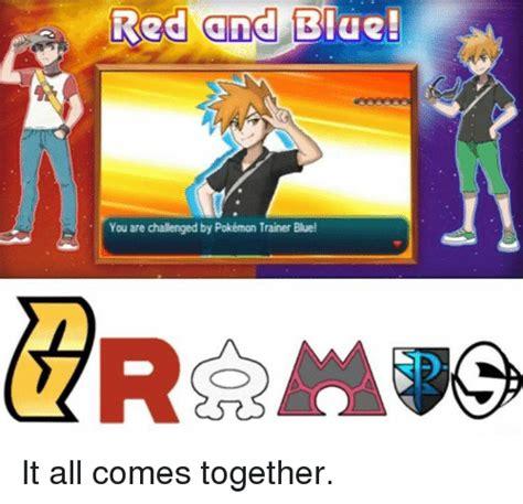 Pokemon Trainer Red Meme - search all pokemon memes on me me