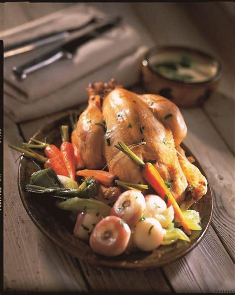 recette poule au pot farcie aux foies de volaille