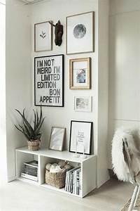 Petit Cadre Deco : d coration murale mur de tableaux cadres et miroirs ~ Teatrodelosmanantiales.com Idées de Décoration