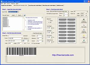 free barcode generator free download and software With create barcodes for inventory