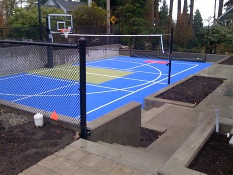 How Much Does A Backyard Basketball Court Cost by How Much Does Something Like This Sports Court Cost