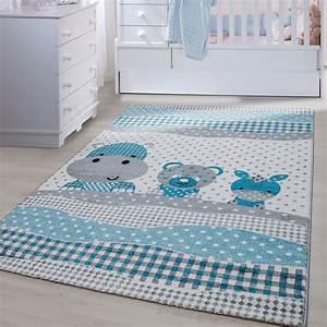 Teppich Im Babyzimmer : kinder teppiche kinderzimmer babyzimmer spielteppich nilpferd panda esel grey ebay ~ Markanthonyermac.com Haus und Dekorationen
