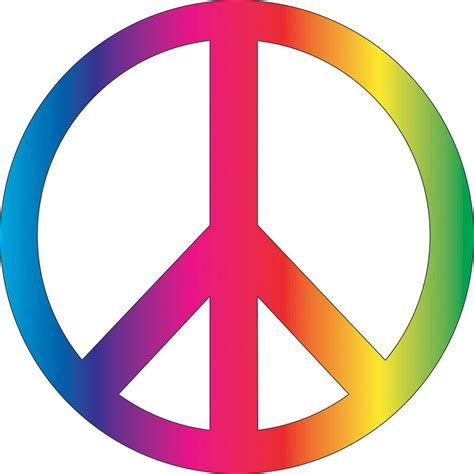 vector peace sign clipart best