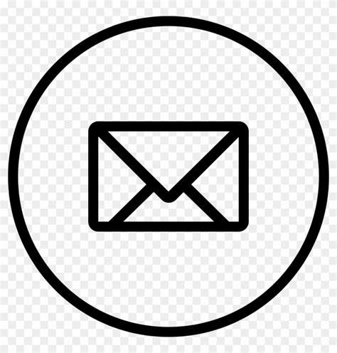 New Email Envelope Back Symbol In Circular Outlined ...