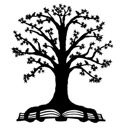 reading tree cut paper art ruralpearlcom