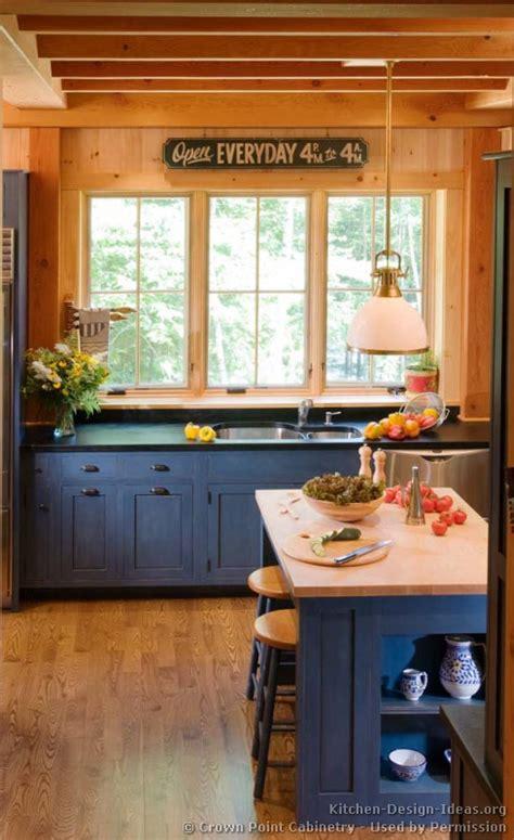 Primitive Kitchen Countertop Ideas by Log Home Kitchens Pictures Amp Design Ideas