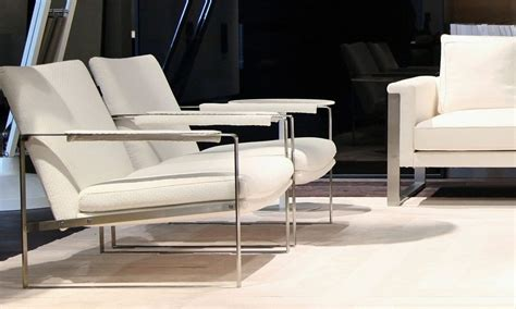 White Living Room Arm Chairs by Zara Chair Italmoda Furniture Store