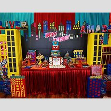 "Superheroes  Birthday ""superhero Theme 1st Birthday Party""  Catch My Party"