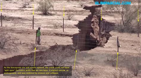 Was This Fissure Near Hermosillo Caused By Subsidence Or