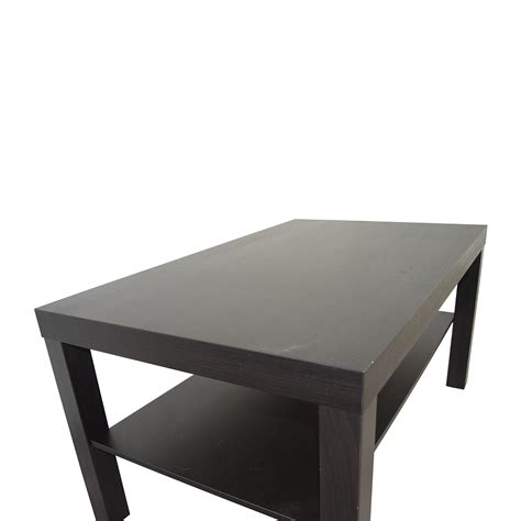 42 off ikea ikea black 42 off ikea ikea black coffee table tables