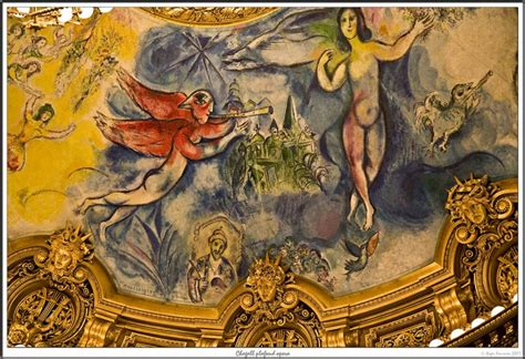 chagall plafond opera garnier photo roger fournier