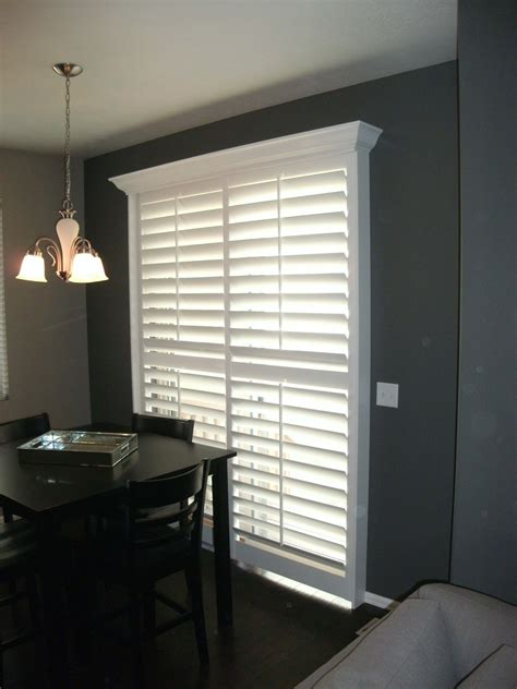 sliding door shutters utah shutters picture gallery