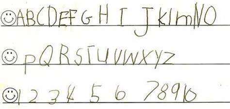 kids handwriting    handwriting  tears
